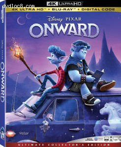 Cover Image for 'Onward [4K Ultra HD + Blu-ray + Digital]'