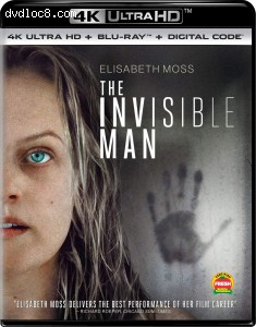 Cover Image for 'Invisible Man, The [4K Ultra HD + Blu-ray + Digital]'