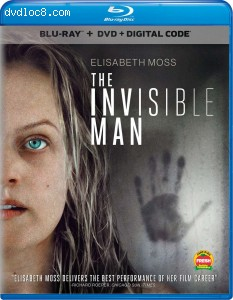 Invisible Man, The [Blu-ray + DVD + Digital] Cover