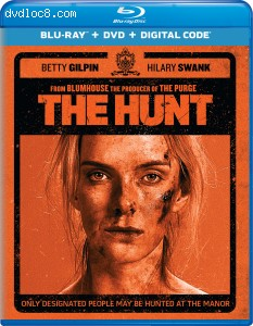 Hunt, The [Blu-ray + DVD + Digital] Cover
