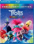 Cover Image for 'Trolls World Tour (Dance Party Edition) [Blu-ray 3D + Blu-ray + Digital]'