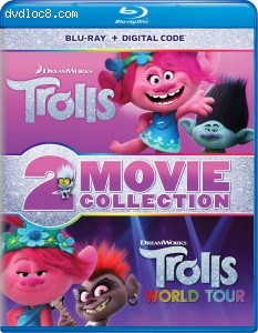 Cover Image for 'Trolls / Trolls World Tour (2-Movie Collection) [Blu-ray + DVD + Digital]'