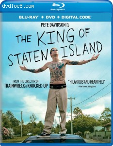 Cover Image for 'King of Staten Island, The [Blu-ray + DVD + Digital]'