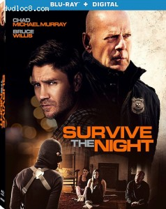 Cover Image for 'Survive the Night [Blu-ray + Digital]'
