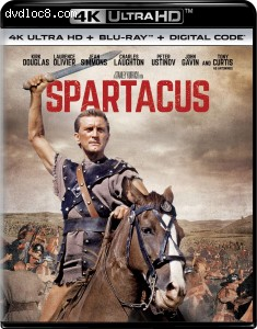 Cover Image for 'Spartacus [4K Ultra HD + Blu-ray + Digital]'