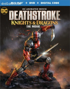 Cover Image for 'Deathstroke: Knights & Dragons [Blu-ray + DVD + Digital]'
