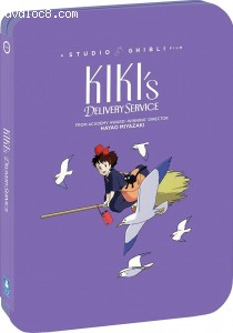 Cover Image for 'Kiki's Delivery Service (SteelBook) [Blu-ray + DVD]'