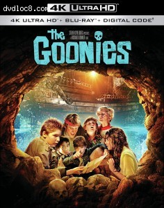 Cover Image for 'Goonies, The [4K Ultra HD + Blu-ray + Digital]'