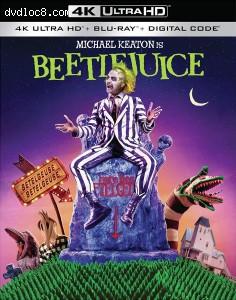 Cover Image for 'Beetlejuice [4K Ultra HD + Blu-ray + Digital]'