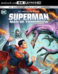 Cover Image for 'Superman: Man of Tomorrow [4K Ultra HD + Blu-ray + Digital]'