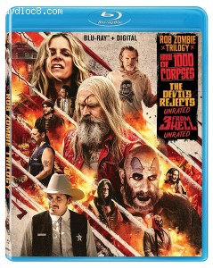 Cover Image for 'Rob Zombie Trilogy [Blu-ray + Digital]'