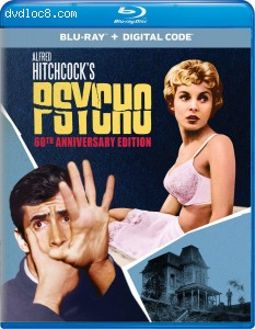 Cover Image for 'Psycho (60th Anniversary Edition) [Blu-ray + Digital]'