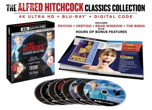 Cover Image for 'The Alfred Hitchcock Classics Collection [4K Ultra HD + Blu-ray + Digital]'