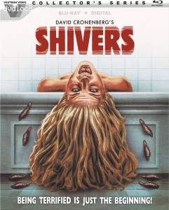 Cover Image for 'Shivers (Collector's Series) [Blu-ray + Digital]'