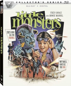 Cover Image for 'Little Monsters (Collector's Series) [Blu-ray + Digital]'