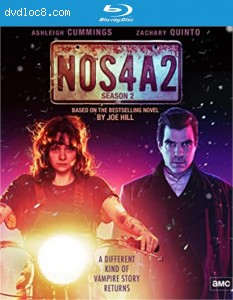 NOS4A2: The Complete Second Season [Blu-ray] Cover