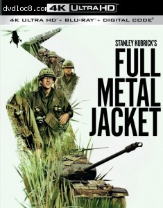 Cover Image for 'Full Metal Jacket [4K Ultra HD + Blu-ray + Digital]'
