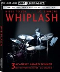 Cover Image for 'Whiplash [4K Ultra HD + Blu-ray + Digital]'