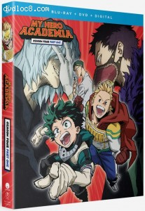 My Hero Academia: Season Four: Part One [Blu-ray + DVD + Digital]