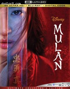 Cover Image for 'Mulan [4K Ultra HD + Blu-ray + Digital]'