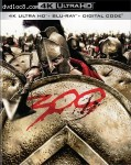 Cover Image for '300 [4K Ultra HD + Blu-ray + Digital]'