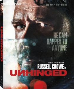 Unhinged [Blu-ray + DVD + Digital] Cover