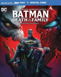 Cover Image for 'Batman: Death in the Family [Blu-ray + Digital]'