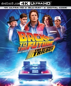 Cover Image for 'Back to the Future: The Ultimate Trilogy [4K Ultra HD + Blu-ray + Digital]'