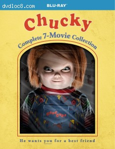Cover Image for 'Chucky: The Complete 7-Movie Collection'