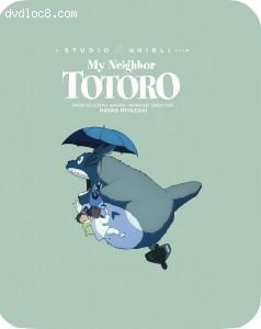 Cover Image for 'My Neighbor Totoro (SteelBook) [Blu-ray + DVD]'