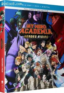 Cover Image for 'My Hero Academia: Heroes Rising [Blu-ray + DVD + Digital]'