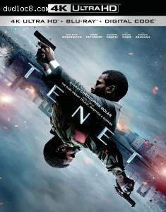 Cover Image for 'Tenet [4K Ultra HD + Blu-ray + Digital]'
