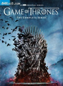 Cover Image for 'Game of Thrones: The Complete Series [Blu-ray + Digital]'