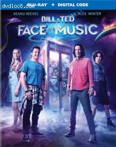 Cover Image for 'Bill & Ted Face the Music [Blu-ray + Digital]'