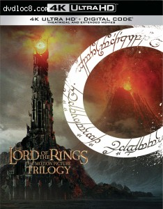 The Lord of the Rings: The Motion Picture Trilogy (Extended & Theatrical) [4K Ultra HD + Digital] Cover