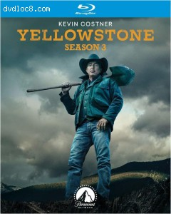 Yellowstone: Season 3 [Blu-ray] Cover