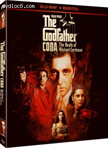 Cover Image for 'The Godfather, Coda: The Death of Michael Corleone [Blu-ray + Digital]'