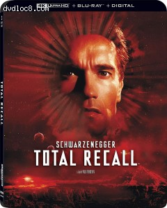 Cover Image for 'Total Recall [4K Ultra HD + Blu-ray + Digital]'