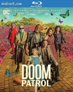 Cover Image for 'Doom Patrol: The Complete Second Season'