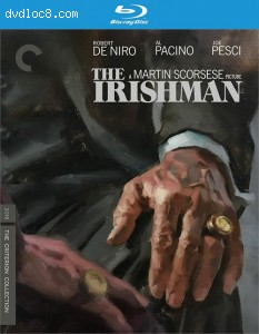 Irishman, The (The Criterion Collection) [Blu ray] Cover