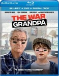 Cover Image for 'War With Grandpa [Blu-ray + DVD + Digital]'