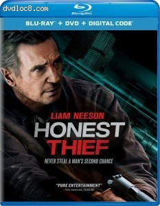 Honest Thief [Blu-ray + DVD + Digital] Cover