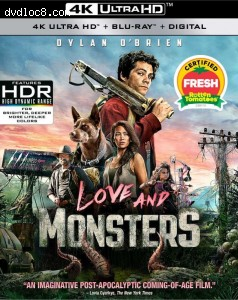 Cover Image for 'Love and Monsters [4K Ultra HD + Blu-ray + Digital]'
