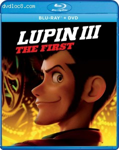 Cover Image for 'Lupin III: The First [Blu-ray + DVD]'