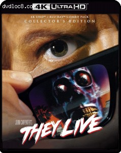 Cover Image for 'They Live (Collector's Edition) [4K Ultra HD + Blu-ray]'