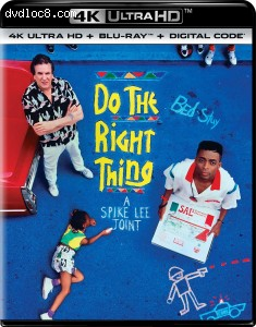 Cover Image for 'Do the Right Thing [4K Ultra HD + Blu-ray + Digital]'