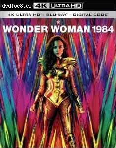 Cover Image for 'Wonder Woman 1984 [4K Ultra HD + Blu-ray + Digital]'