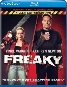 Cover Image for 'Freaky (Killer Switch Edition) [Blu-ray + DVD + Digital]'