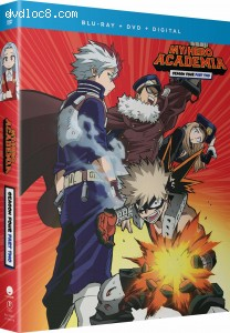 Cover Image for 'My Hero Academia: Season Four: Part Two [Blu-ray + DVD + Digital]'