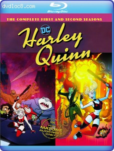 Cover Image for 'Harley Quinn: Harley Quinn: The Complete First and Second Seasons'